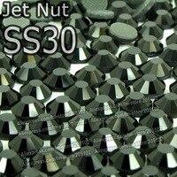 ss30 6.4-6.6 мм, 288 шт./пакет аметист в DMC исправление пришивные стразы, передача тепла Сделай сам горячие железа на одежде фиолетовый хрустальные камни
