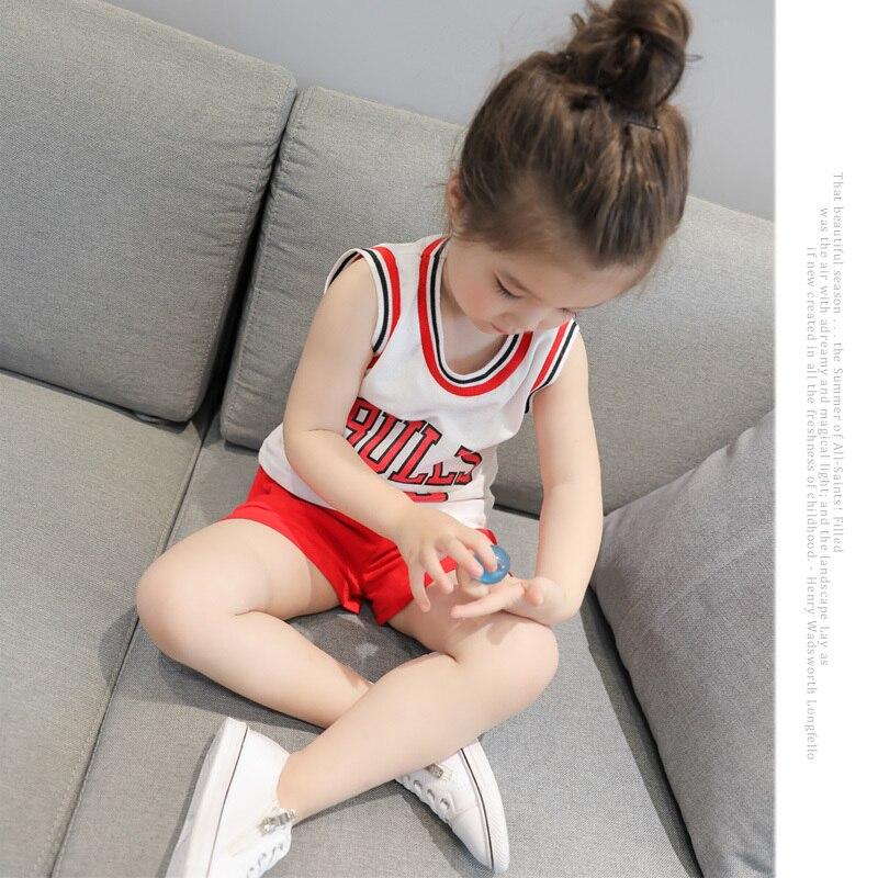 2017 New Pattern Small Children's Garment  Baby Twinset Summer Motion Leisure Time Digital Vest Shorts Basketball Suit 2017 new summer 369 digital