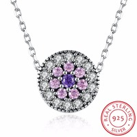 2017 Wholesale Sale Genuine 925 Sterling Silver Necklace Fine Jewelry Jewelry Fit Original Diy Crystal 925