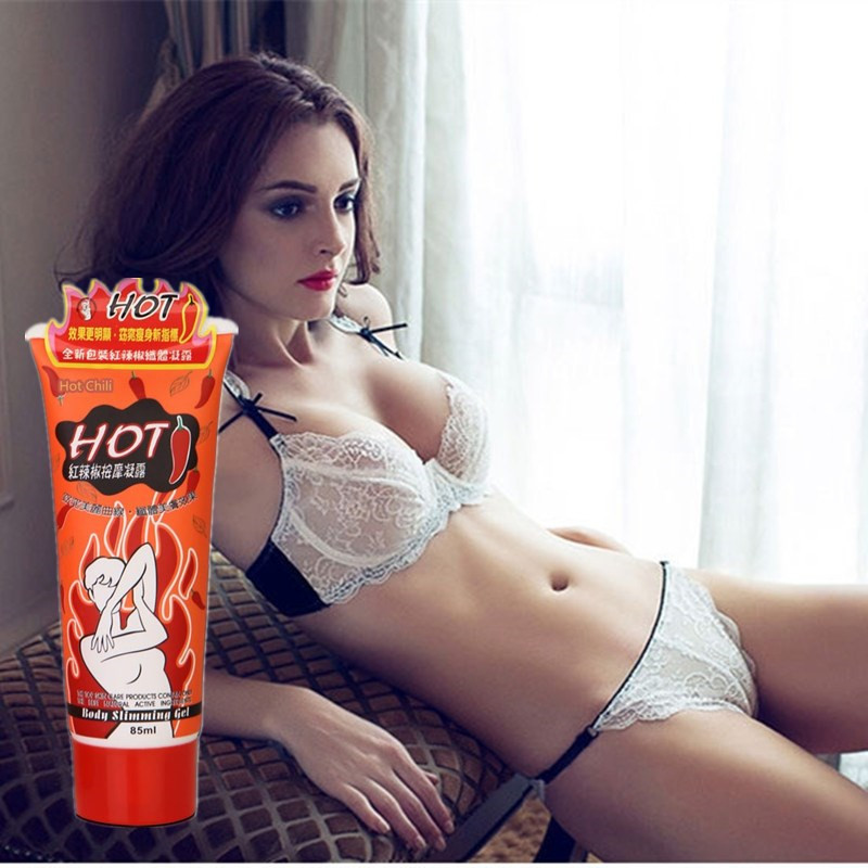 85ml Anti Cellulite 7 Days Slimming Body Cream Hot Chili Ginger Stubborn Fat Burn Detox Lose Weight Burning Fat Cream Firming