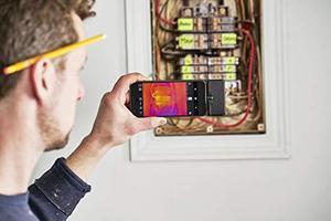 Image 4 - FLIR ONE PRO LT Cámara de imagen térmica, dispositivo de visión nocturna con visión infrarroja, 80x60 píxeles, para iOS o tipo C
