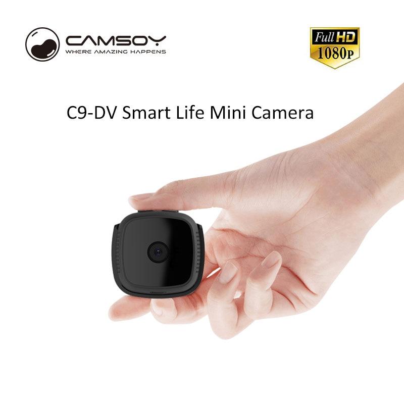 Mini Camera HD 1080p Outdoor Action Cam Bike IR Night Vision Small Car Sport Portable C9 DV DVR Camera back clip Video Recorder