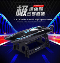 Hot sell newest DH7014 High Speed 2.4G 25KM/H Racing RC Boat Electric Remote Controlled Speedboat with Super water-cooled motor