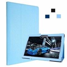 PU Protector de Pantalla Funda de Cuero Del Soporte Para Lenovo Tablet 2 A10-30 Moda Caso de la Cubierta de Lenovo de 10 pulgadas Nueva Tableta caso