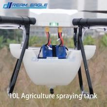 10l tanque de pulverização agrícola boca dupla tanque pote de pulverização de pesticidas diy tanque do pulverizador para a agricultura uav zangão