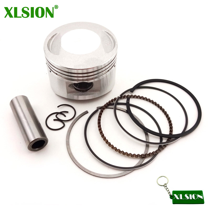 Pit Dirt Quad V/élo 52.4mm Bomb/é Kit Piston 110cc 125cc pour Lifan Loncin Atv