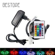5M 300Leds Non Waterproof White  RGB Led Strip Light 3528 DC12V 60Leds/M Flexible Light Led Ribbon Tape Home Decoration Lamp