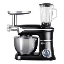 Кухонный комбайн Endever Sigma 50 (Мощность 1300 Вт, миксер, мясорубка, блендер, объем стальной чаши - 6.5л, 6 скоростей, LED индикаторы)