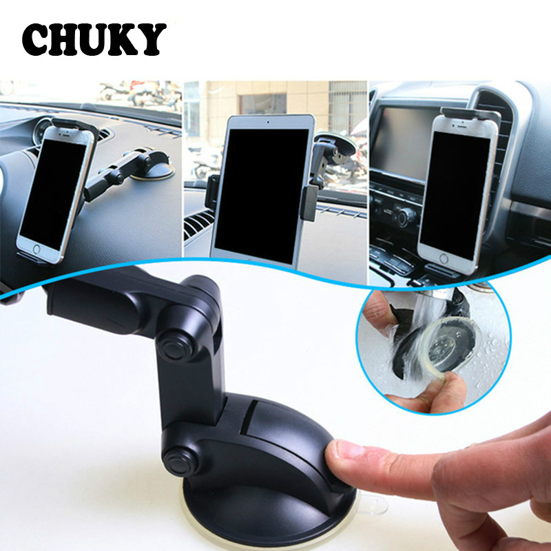 Universal Car Windshield Mount Stand cell phone Bracket GPS Holder for VW Polo Jetta Toyota Mercedes Saab Renault Dacia Duster