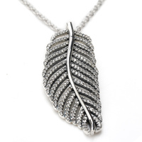 925 Sterling Silver Majestic Phoenix Feathers Wings Vintage Silver 925 Pendant Necklace For Women Jewelry