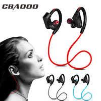 CBAOOO K98 casque sans fil Bluetooth écouteur Sport en cours d'exécution sans fil stéréo Bluetooth casque casque avec micr pour téléphone