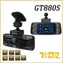 Car GPS DVR 2.7″ screen GT880S car camera Car Charger+Built-in GPS+WDR+Car Number+Parking Monitor Video Recorder