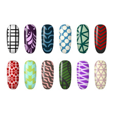 12 Sheets Nail Stickers