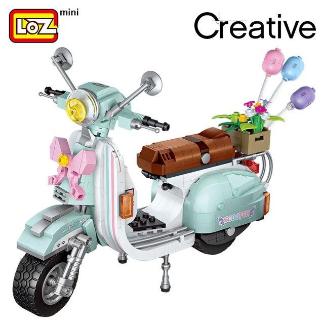 LOZ Mini Blocks Technic Car Model Bricks Building Blocks Creator Plastic Assembly Toys for Children Educational Gifts DIY 1117