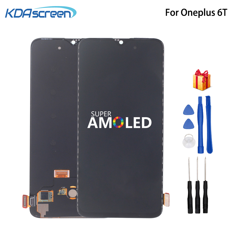 Original Amoled LCD For Oneplus 6T LCD Display Touch Screen Digitizer Assembly For Oneplus 6T Screen LCD Display Phone Parts