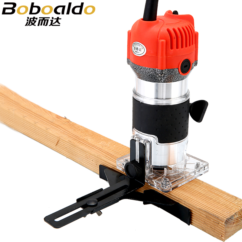 Router Trimmer 650W Durable Small Copper Motor Carving Machine 14'' chuck Electric Woodworking Trimmer Power Tool Wood DIY