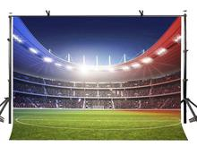 150x210cm Football Field Backdrop Bright Crowded Passion Photography Background for Camera Photo Props