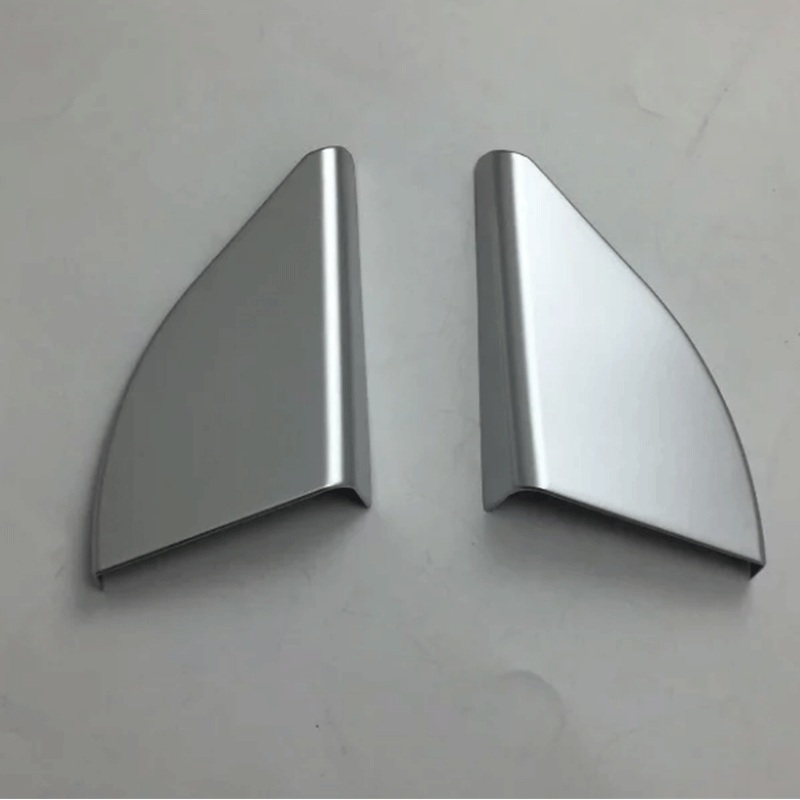Car Accessories Interior Decoration LHD ABS Inner A Pillar Triangle Cover 2pcs For Toyota RAV4 2016 Car Styling in Interior Mouldings from Automobiles Motorcycles