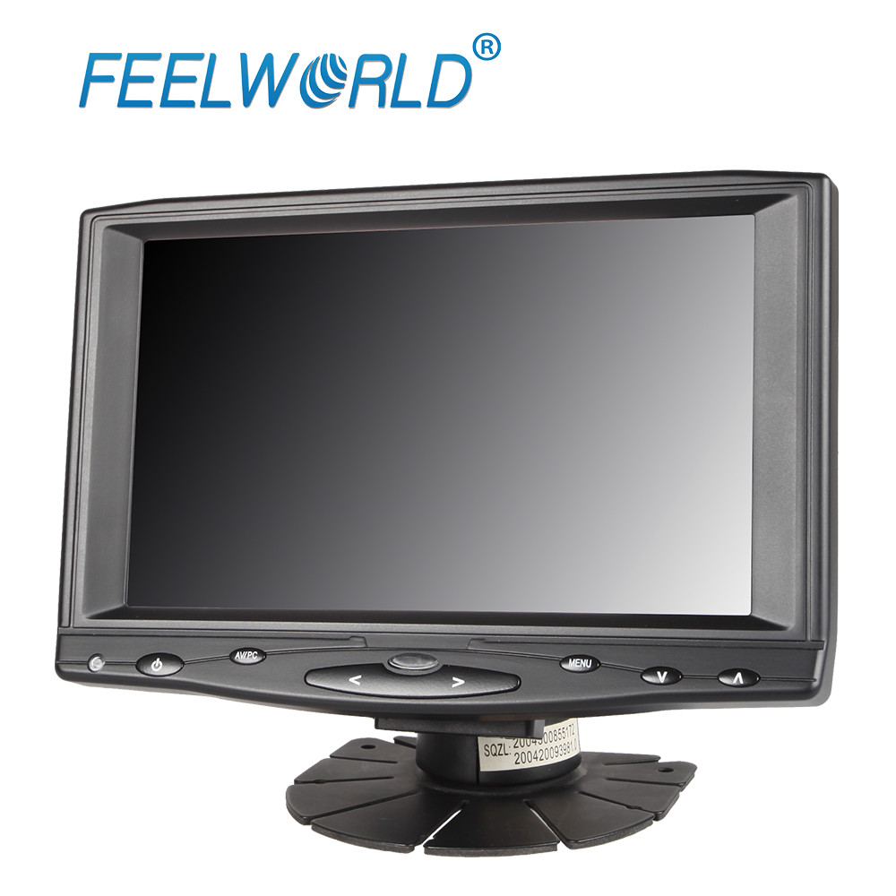 Feelworld FW619AHTV2 7 Inch IPS 1024x600 Touch Screen Monitor with HDMI VGA AV Input 7 LCD Monitor