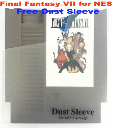 FINAL FANTASY VII Game Cartridge for NES Console title=