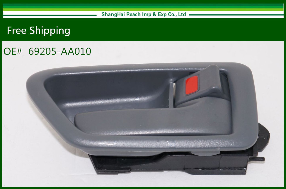 New Interior Door Handle For <font><b>Toyota</b></font> <font><b>Camry</b></font> / <font><b>Lexus</b></font> ES300 Gray Front Right RH