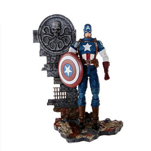 Marvel Super Hero Avengers Captain America 3 Civil War Black panther Winter  Soldier Figure Toy for 3a40d494f991