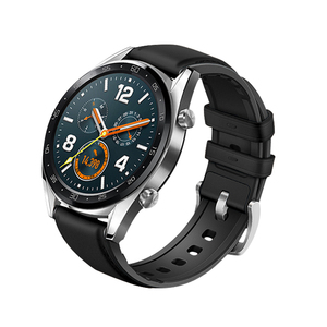 Image 4 - Watch Strap for Huawei Watch GT 2 46mm Genuine leather Silicone Watch Bands For huawei Honor Watch Magic 2 Bracelet