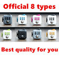 1 PC Official original Fidget cube with high-quality gift box Relieve stress antistress Fun toy for adult kid children Not Cheap