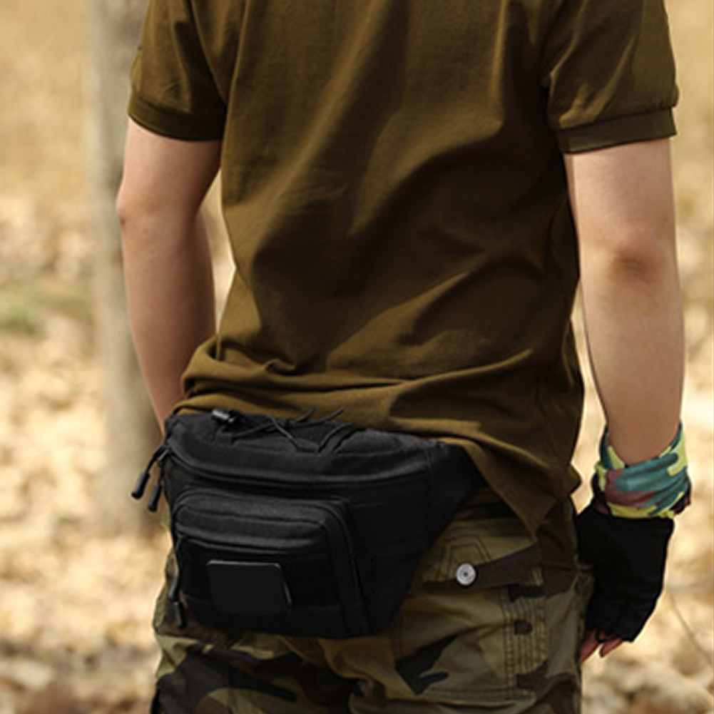 Di A Nylon Militare Piedi Corsa Viaggio Trekking Regolabile Hip Wasit All'aperto Cinghia Pack desert Sacchetto Sport Tattico E Camping Black Digital brown Impermeabile Jogging rErAqvn