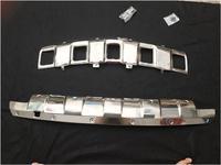 JIOYNG спереди + задний бампер диффузор протектор гвардии защитные пластины для Benz W164 ML350 2006 2007 2008 2009 2010 2011 по EMS