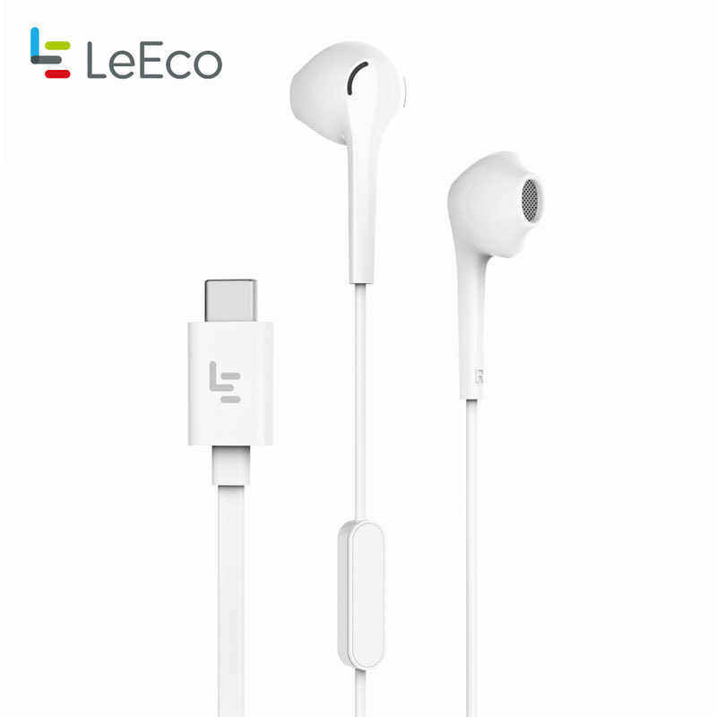 Letv LeEco CDLA Typ-C Kopfhörer Digital Wired Steuerung Verlustfreie Audio Earbuds Headset mit Mic für Leeco Max 2 le Pro Smartphone