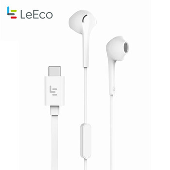 Letv LeEco CDLA Type-C Earphone Digital Wired Control Lossless Audio Earbuds Headset with Mic for Leeco Max 2 le Pro Smartphone
