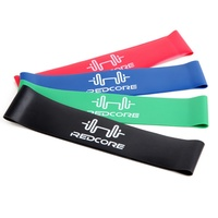 4pcs Latex Tubing Expanders Yoga Stretch Resistance Fitness Band Strap Elastic Band Crossfit Dance Training Workout