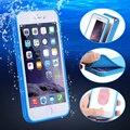I6 6 s plus caso à prova d' água para iphone 6 7 6 s plus underwater mergulho natação telefone casos para iphone 7 6 plus tampa da tela de toque