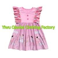תמונות עיצוב שמלת תינוק סיטונאי שמלות אופנה בנות שמלות נסיכה יפה עיצוב מצעד
