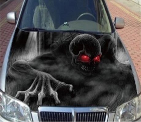 Popular Skull Car StickersBuy Cheap Skull Car Stickers Lots From - Skull decals for trucks
