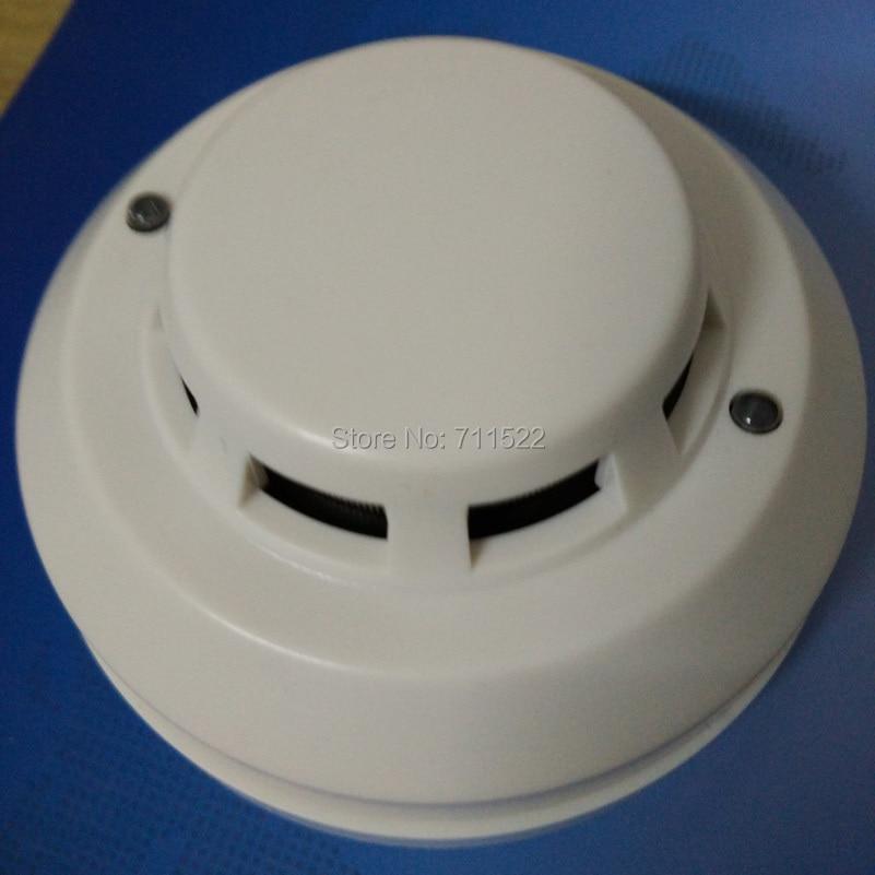 smoke font b alarm b font 12 24v relay output 4 wire smoke detector with NO