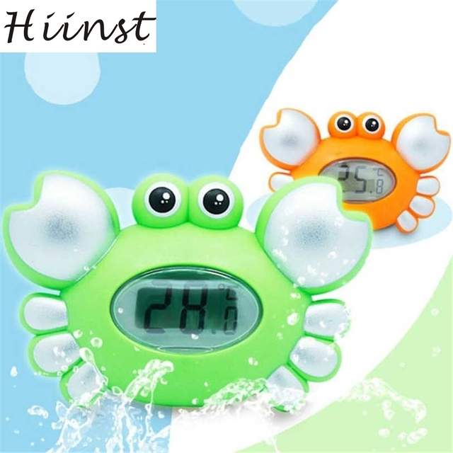 Hiinst Water temperature gauge baby cartoon newborn bath toy electronic thermometer AUG14 H40