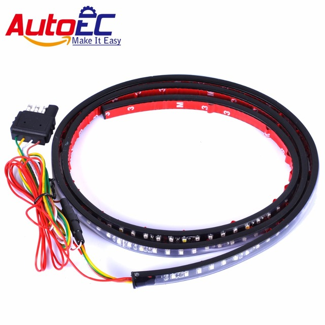 AutoEC 1x 48Inch 60Inch 120cm 150cm Red LED Truck Tailgate Tail ...