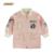 2016 Nueva Carta Moda Chica Cabritos de la Chaqueta Prendas de Abrigo y Abrigos Niñas Cazadora de Béisbol Chaquetas Trinchera Resorte de la Ropa de Bebé