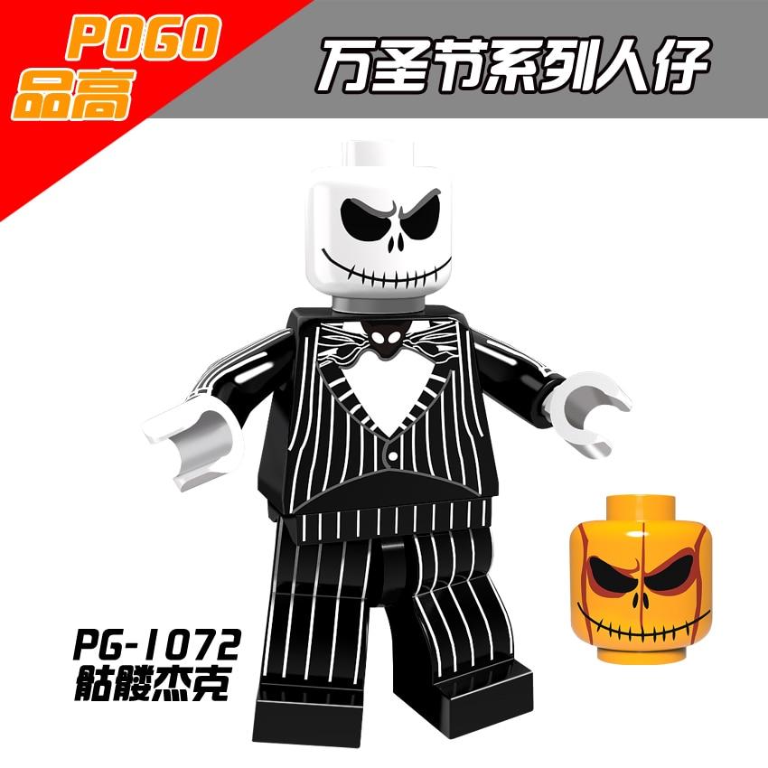 Model Building Able Single Sale Pg1072 Halloween Skeleton Jack Figure Model Toys & Hobbies Action Legoing Figures Building Blocks Toys For Children Online Shop Blocks