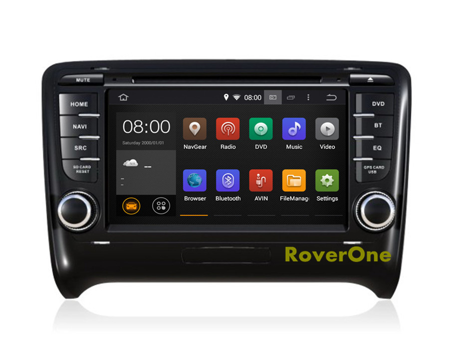 for audi tt tts mk2 2006 2013 hd screen android 5 1 autoradio car radio stereo dvd gps. Black Bedroom Furniture Sets. Home Design Ideas