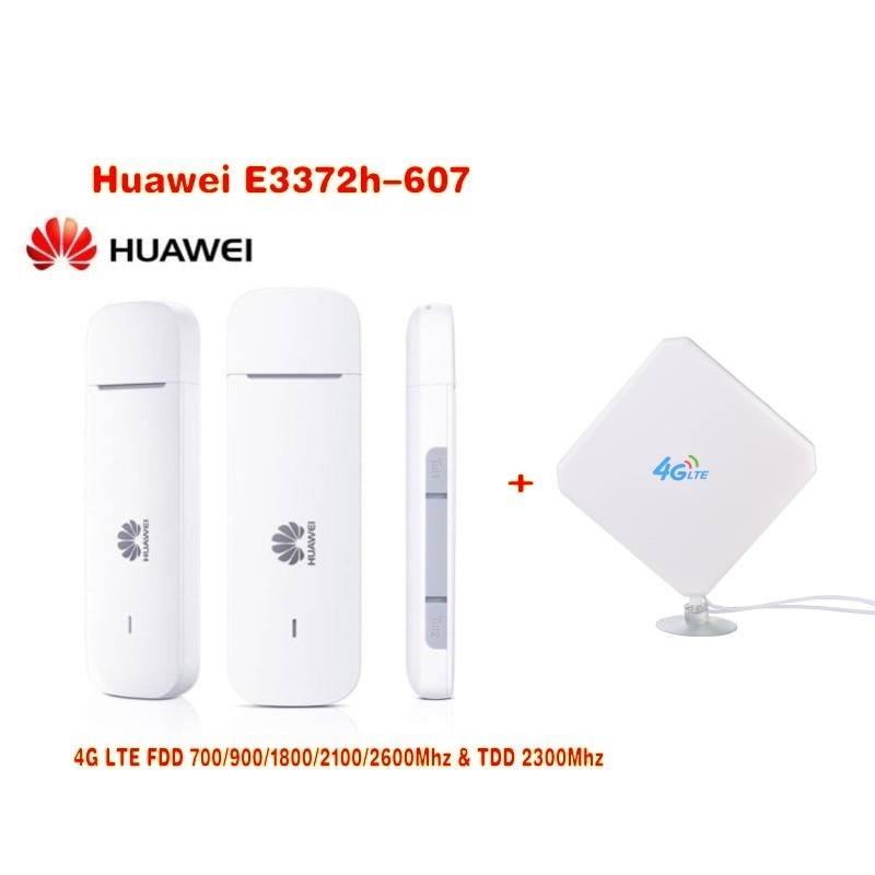 Original Unlock HUAWEI E3372 E3372h-607 150Mbps 4G LTE USB Mode +CRC9 CONNECTOR 35DBI 4G EXTERNAL ANTENNA BOOSTER SIGNAL Antenna huawei e3372 m150 2 mobile broadband 150mbps cat4 lte 4g 3g usb modem 4g crc9 35dbi antenna
