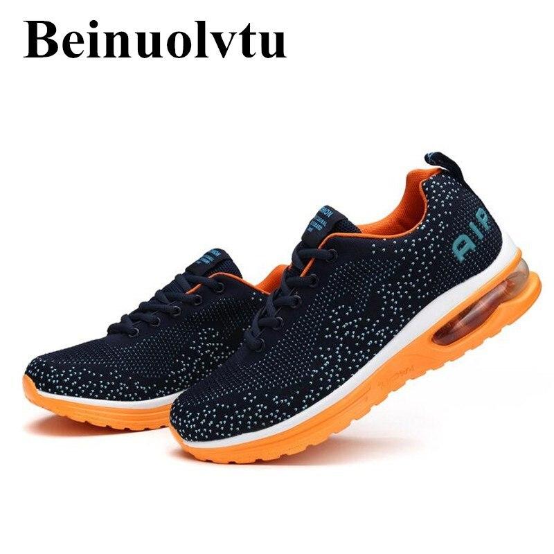 Beinuolvtu Nuevas Llegadas Original de Aire zapatos Corrientes de los hombres za
