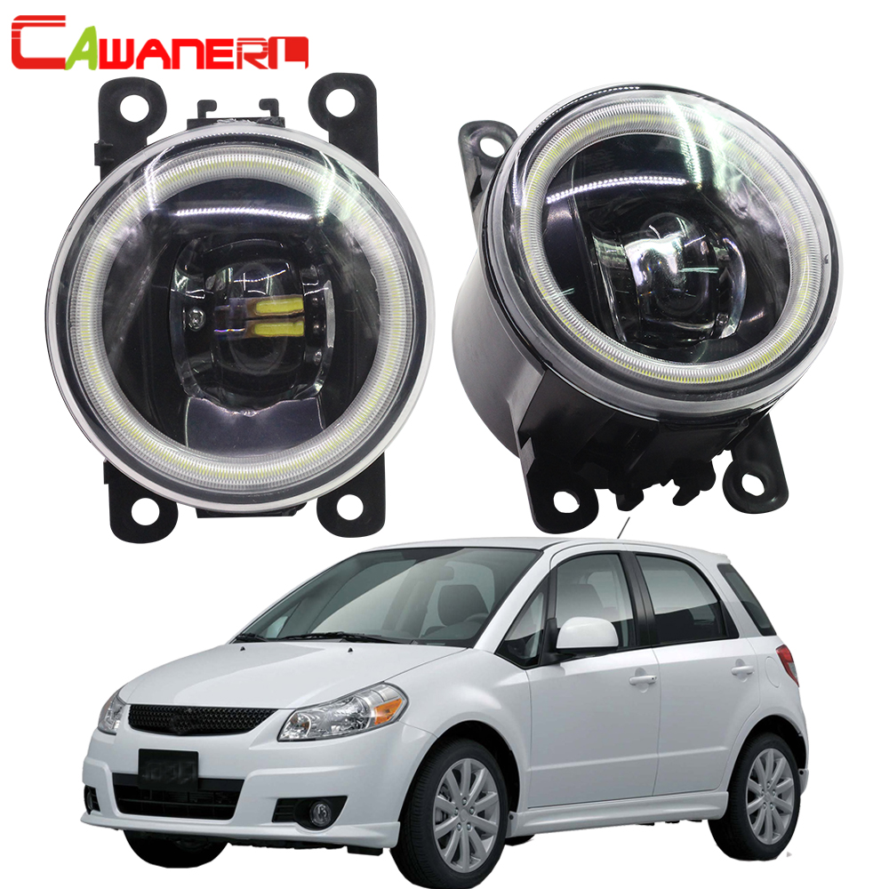 Cawaner For Suzuki SX4 EY GY 2006 2014 Car 4000LM LED Lamp Front Fog Light Assembly