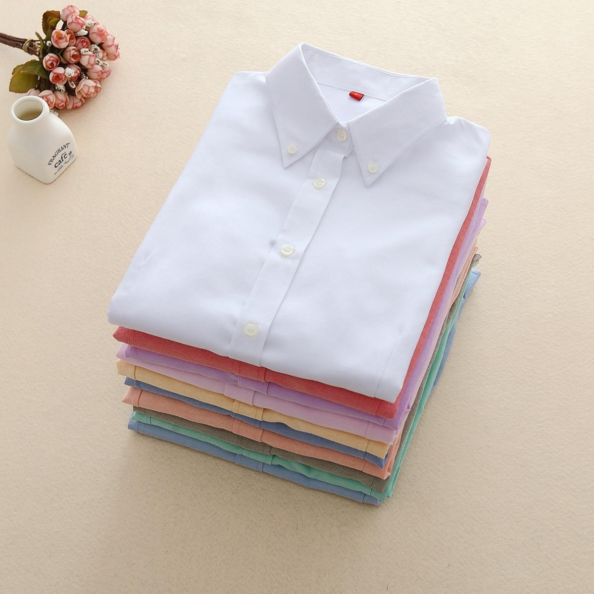Frauen Kleidung & Zubehör Systematisch Fekeha Frauen Blusen 2019 Langarm Oxford Damen Tops Büro Langarm Shirts Frauen Student Blusas Camisas Mujer
