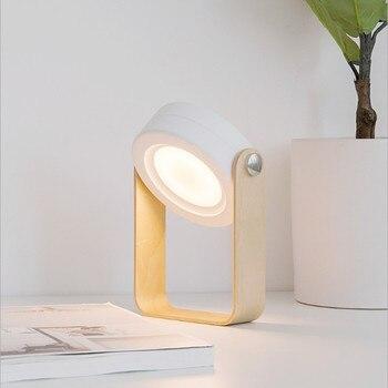 LED Powered Faltbare Taschenlampen Tragbare Lampe LED Wiederaufladbare Hand Lampe Schreibtisch Lampe Laterne Licht Außen Beleuchtung