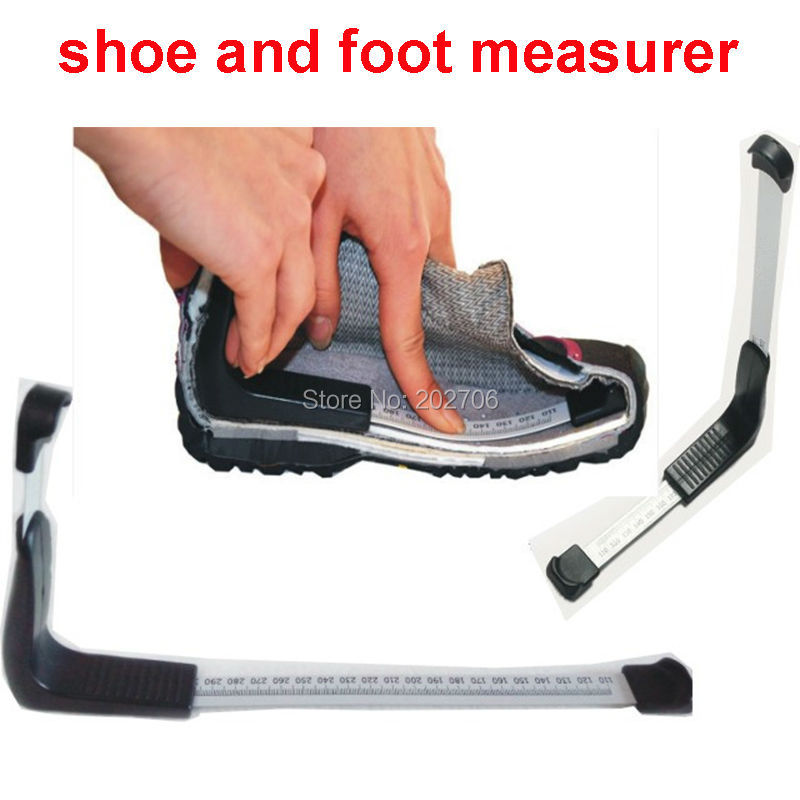 Name Of The Foot Measuring Device : Cm shoe measurer foot measure gauge adult children