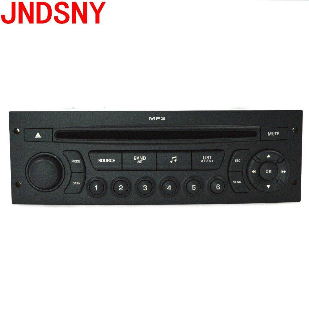 JNDSNY RD45 voiture radio CD player prend en charge Bluetooth AUX USB MP3 pour Citroen C3 C4 C5 Peugeot 207 206 307 308 807