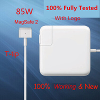 100 New Working Magsaf 2 85W 20V 4 25A Power Adapter Charger For Apple MacBook Pro